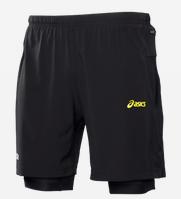 pantalon corto fuji  asics hombre - intersport