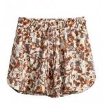 pantalones cortos estampados hym invierno 2014
