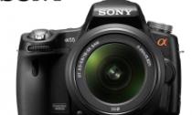 sony alpha 55 fotoprix
