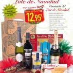 Promoción lote de navidad la Nueva España 2014
