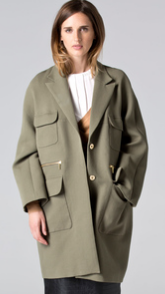abrigo solapa cortefiel otoño 2014