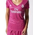 camiseta madrid mujer adidas
