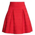 falda estampado h&m