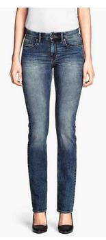 straight regular jeans h&m