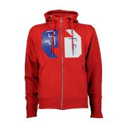 sudadera sneaker freak foot locker rojo