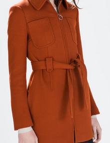 abrigo rebajas zara mujer 2015