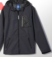 chaqueta capucha adidas rebajas