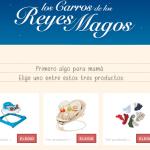 tarjeta regalo - carta reyes magos carrefour 2015