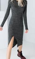 vestido corte delantero rebajas bershka 2015