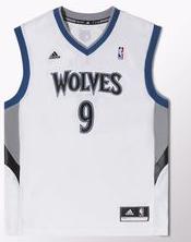 camiseta timberwolves adidas