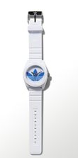 Santiago Watch silicona blanco