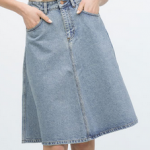 falda vintage zara
