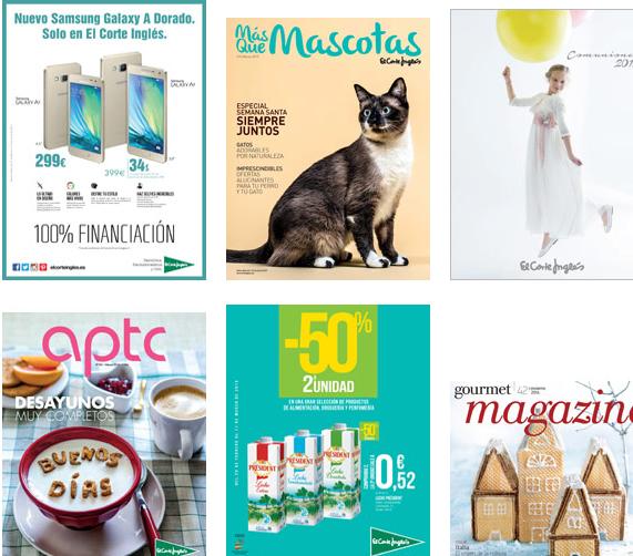 Donde ver los cat logos virtuales de el corte ingl s - Catalogo regalos corte ingles ...
