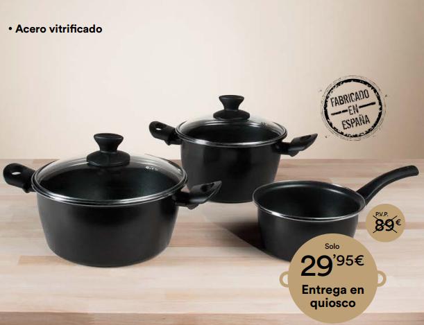 Bateria De Cocina Magefesa | Promocion Bateria De Cocina Magefesa Diario El Pais Catalogos