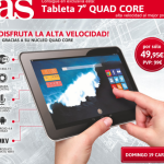 "Tablet Prixton Quad Core 7"" por 49,95€ - Diario AS"