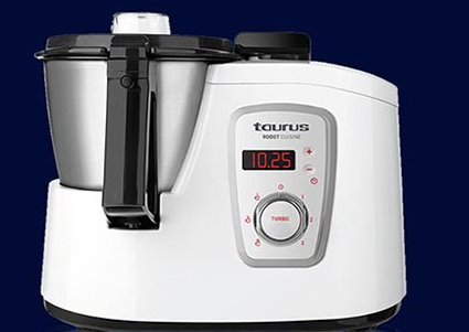 Comprar robot de cocina taurus cuisine en media markt for Robot de cocina taurus top cuisine