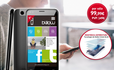 smartphone billow diario as