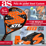 pala padel steel custom marca