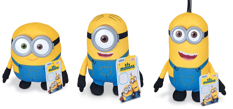 peluches minions carrefour