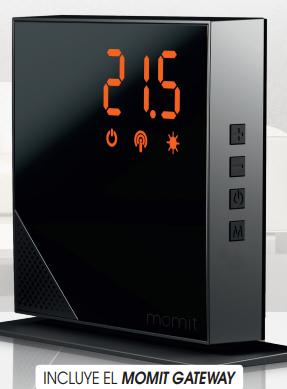 termostato inteligente momit diario marca