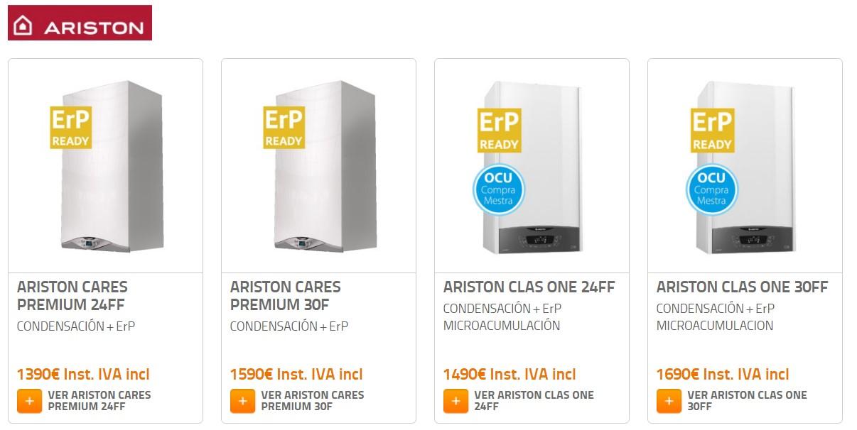 Catálogo de calderas de condensación: ¿Cuál me compro?